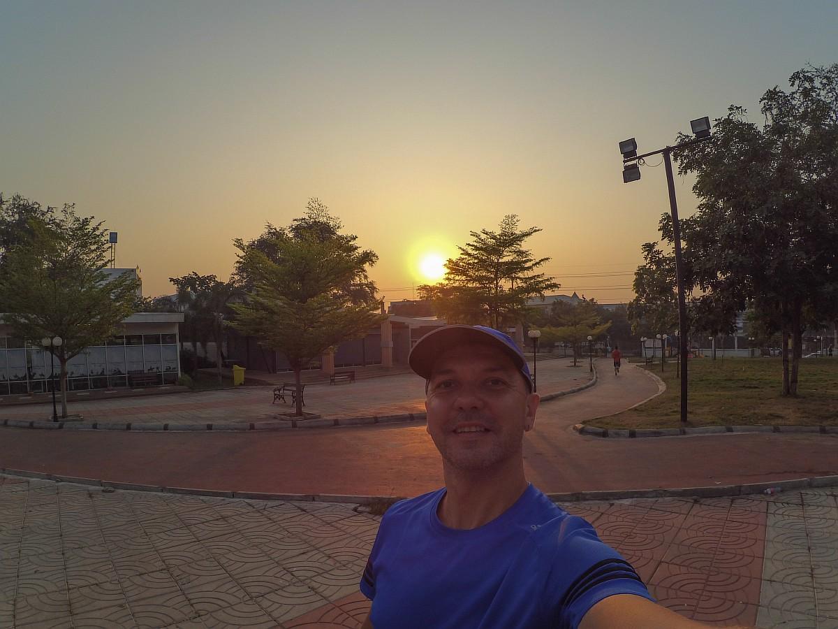 Утренняя пробежка в Пакчонге