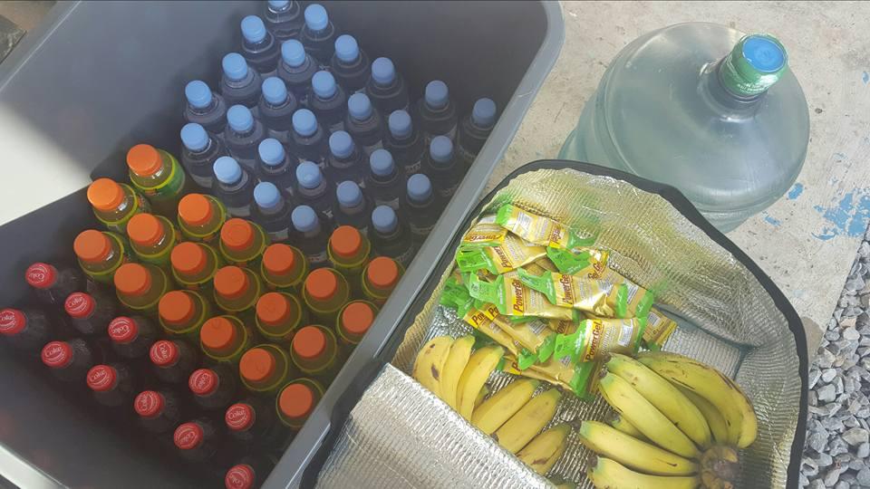 Вода и питание на ультра-марафон