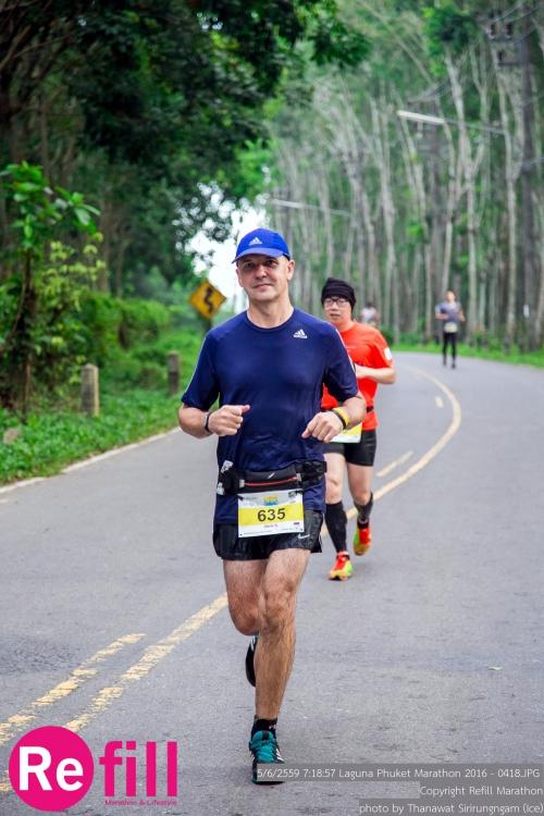Бегу марафон на Пхукете