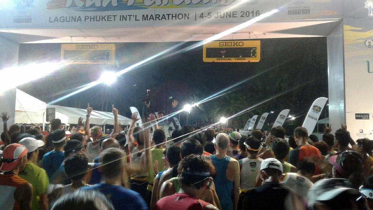 Перед стартом марафон Пхукет