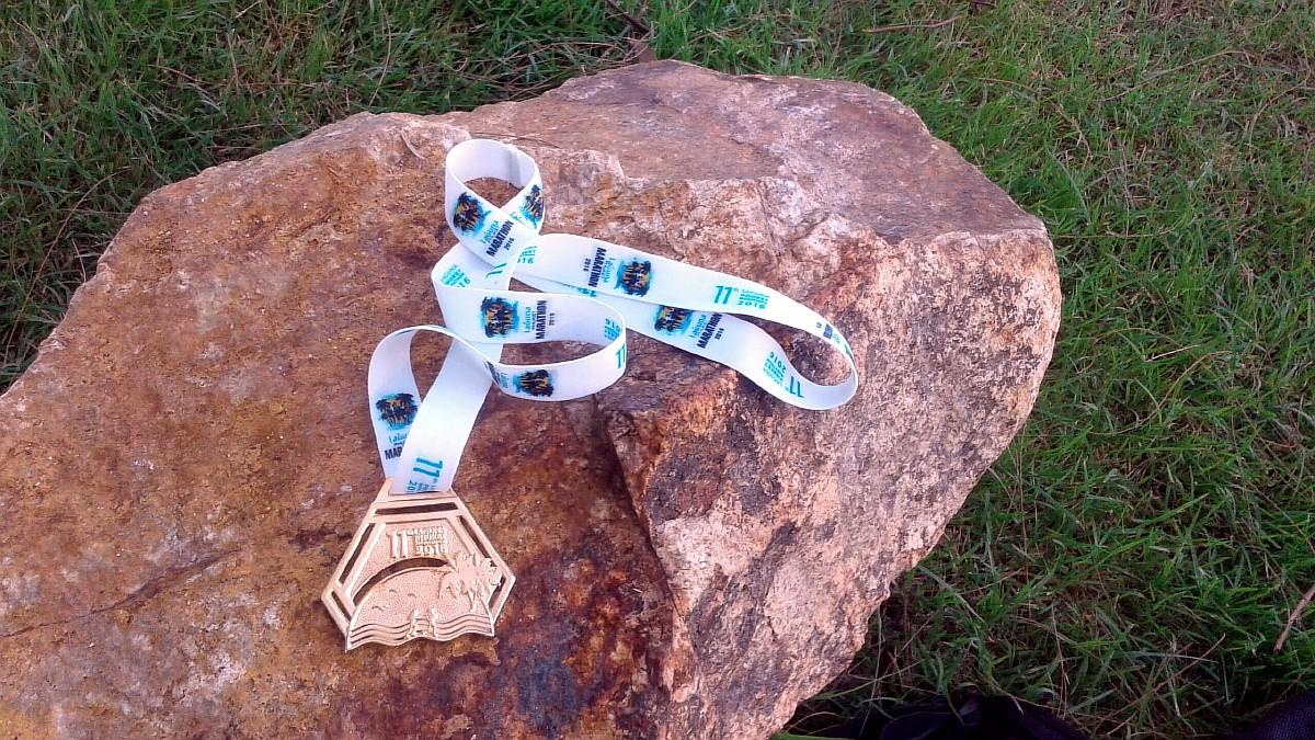 Медаль марафона на Пхукете