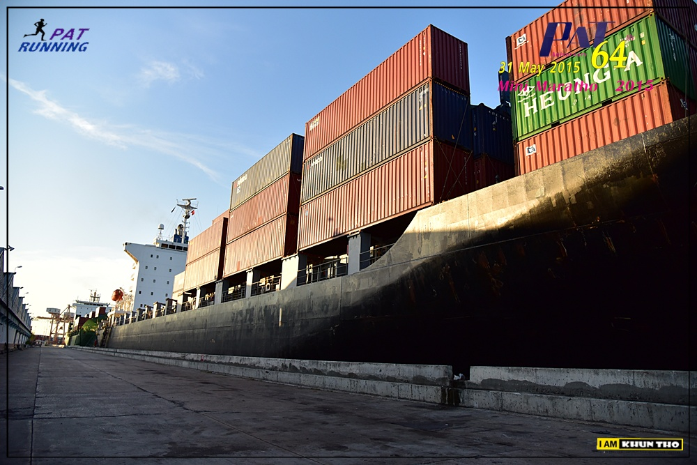Забег в порту